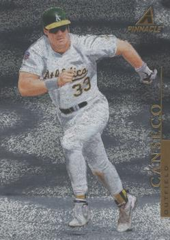 1998 Pinnacle - Museum Collection #PP52 Jose Canseco Front