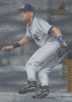 1998 Pinnacle - Museum Collection #PP57 Derek Jeter Front