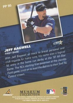 1998 Pinnacle - Museum Collection #PP95 Jeff Bagwell Back
