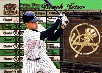 1998 Pacific Revolution - Prime Time Performers #6 Derek Jeter Front
