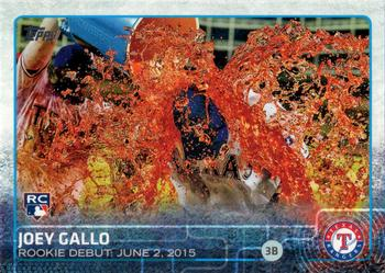 2015 Topps Update #US14 Joey Gallo Front