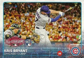 2015 Topps Update #US242 Kris Bryant Front