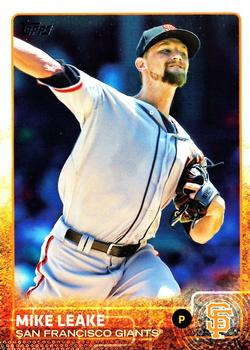 2015 Topps Update #US271 Mike Leake Front