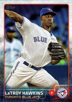 2015 Topps Update #US361 LaTroy Hawkins Front
