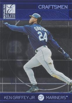 1998 Donruss Elite - Craftsmen #1 Ken Griffey Jr. Front