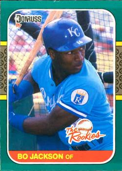 Bo Jackson Gallery The Trading Card Database