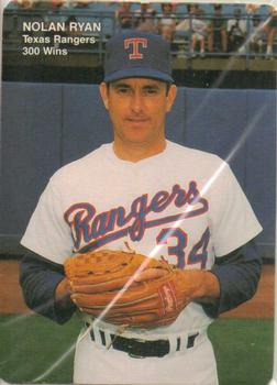 1991 Mothers Cookies Nolan Ryan 300 Wins Baseball Gallery The