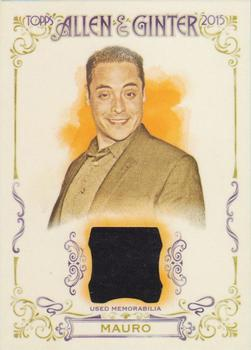 2015 Topps Allen & Ginter - Full Size Relic #FSRA-JMA Jeff Mauro Front