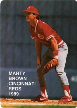 1989 Broder Rookies I (Unlicensed) #4 Marty Brown Front