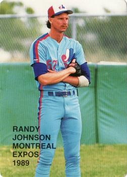1989 Broder Rookies I (Unlicensed) #7 Randy Johnson Front