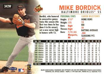 Mike Bordick Gallery The Trading Card Database