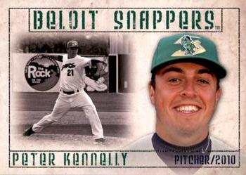2010 Grandstand Beloit Snappers #NNO Peter Kennelly Front