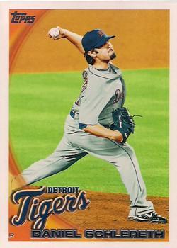 2010 Topps Detroit Tigers #DET17 Daniel Schlereth Front