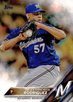 2016 Topps #18 Francisco Rodriguez Front