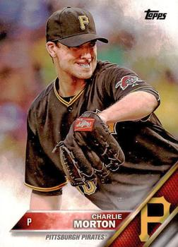 2016 Topps #169 Charlie Morton Front