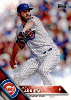 2016 Topps #264a Jake Arrieta Front