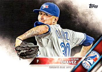 2016 Topps #465 Jesse Chavez Front
