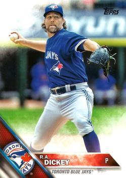 2016 Topps #493 R.A. Dickey Front