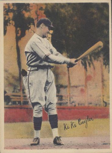 1936 R312 National Chicle Pastels #NNO KiKi Cuyler Front