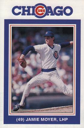 pretty nice 744b9 e367d 1988 David Berg Chicago Cubs #NNO Jamie Moyer | The Trading ...