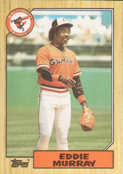 1987 Topps #120 Eddie Murray Front