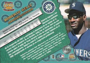 1998 Pacific #189 Roberto Kelly Back