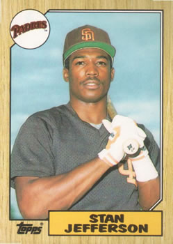 1987 Topps Traded #55T Stan Jefferson Front