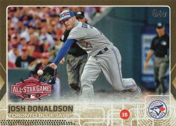 Sabermetric Back 2015 Topps Update Series #US58.2 Josh Donaldson Baseball Card