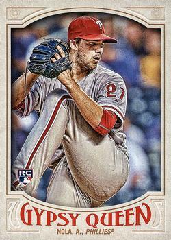 2016 Topps Museum Collection Baseball #77 Aaron Nola RC Philadelphia Phillies