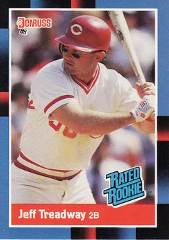 1988 Donruss #29 Jeff Treadway Front