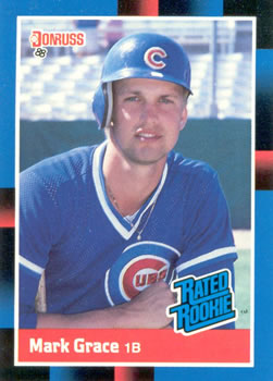 1988 Donruss #40 Mark Grace Front