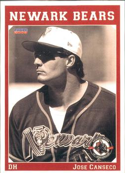 2008 Choice Newark Bears 10th Anniversary #2 Jose Canseco Front