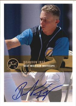 2000 Just - Autographs #BA-13 Brandon Inge Front