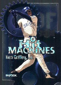 2000 Metal - Hit Machines #1H Ken Griffey Jr.  Front