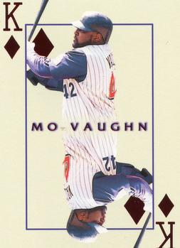 2000 Pacific Invincible - Kings of the Diamond #1 Mo Vaughn  Front
