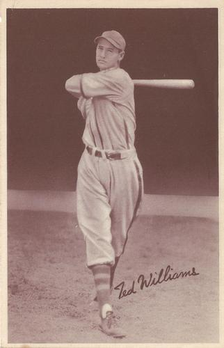 1939 Goudey Premiums (R303-A) #NNO Ted Williams Front