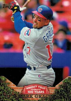 2016 Topps - 100 Years at Wrigley #WRIG-26 Mark Grace Front