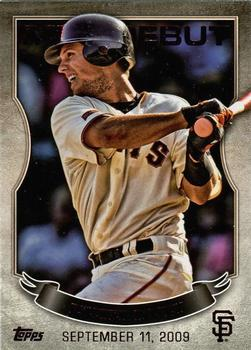 2016 Topps - MLB Debut Bronze #MLBD-26 Buster Posey Front
