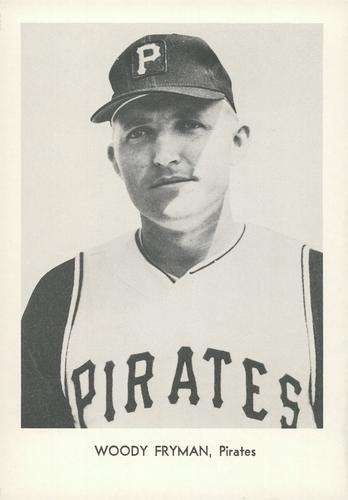 1967 Sports Service Pittsburgh Pirates #NNO Woody Fryman Front