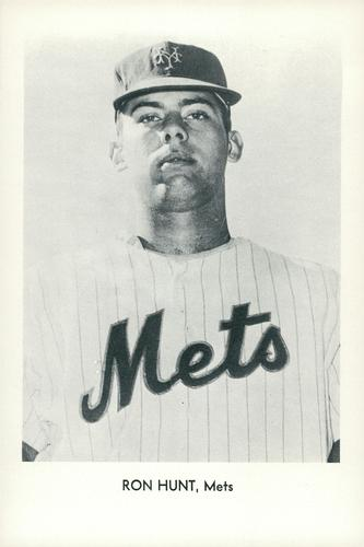 1964 Sports Service New York Mets Set A #NNO Ron Hunt Front