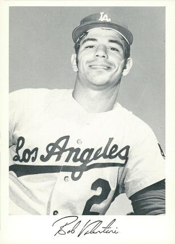 Schön 1971 Danny Goodman Los Angeles Dodgers Set F #NNO Bob Valentine