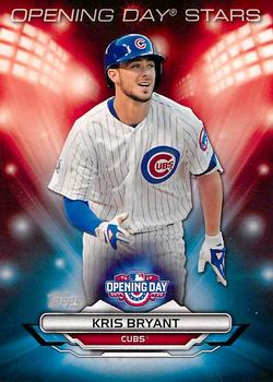 2016 Topps Opening Day - Opening Day Stars #ODS-8 Kris Bryant Front