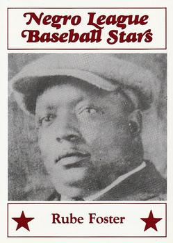 Rube Foster Gallery The Trading Card Database