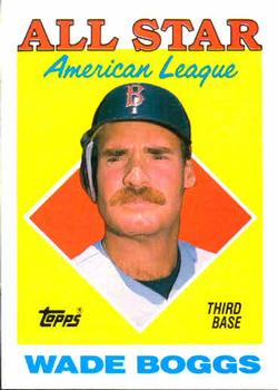 1988 Topps #388 Wade Boggs Front