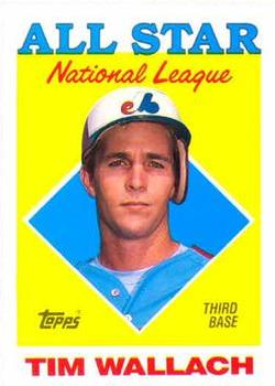 1988 Topps #399 Tim Wallach Front