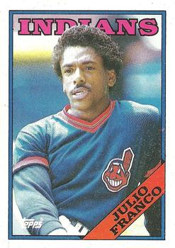 1988 Topps #683 Julio Franco Front
