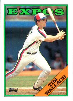 1988 Topps #560 Tim Wallach Front