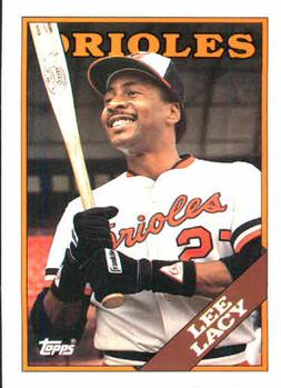 1988 Topps #598 Lee Lacy Front