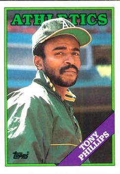 1988 Topps #673 Tony Phillips Front
