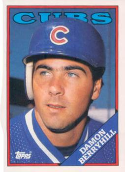 1988 Topps Traded #15T Damon Berryhill Front
